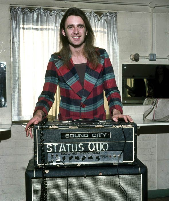 Francis Rossi pictured in 1972