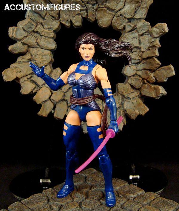 Psylocke (X-Men Apocalypse Movie) (Marvel Legends) Custom ...