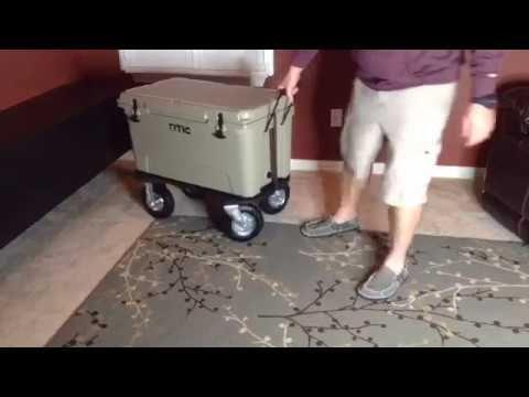 (39) How to make RTIC YETI Cooler Wheel Kit -EASY & CHEAP - YouTube
