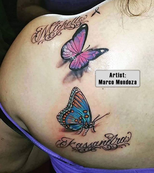 78 Best Ideas About Butterfly Tattoos Images On Pinterest