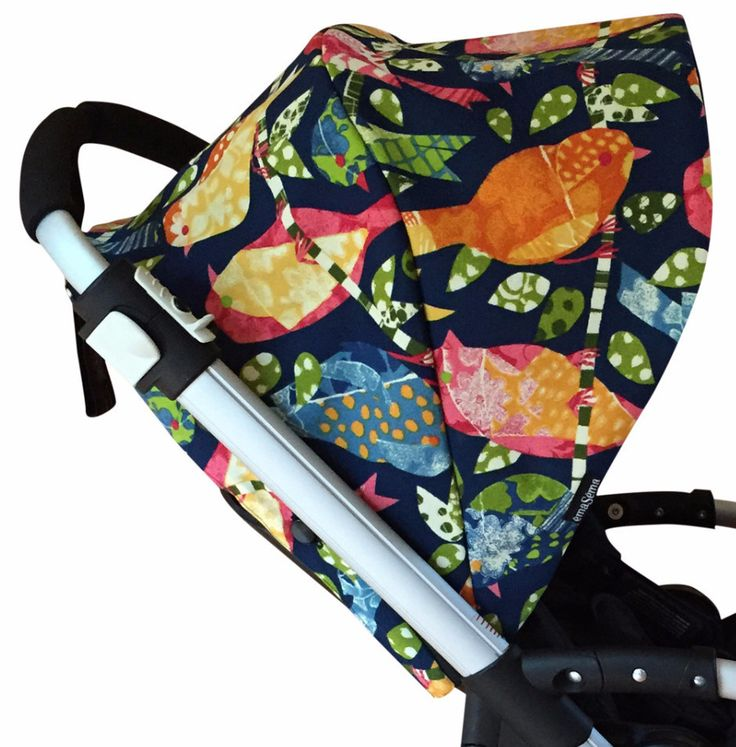 Flock Together Hood/ canopy for Bugaboo and Babyzen Yoyo strollers.