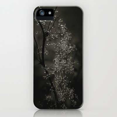 The beads iPhone & iPod Case by Tomas Hudolin - $35.00 Like Swarovski :) #dew #drops #fall #autumn