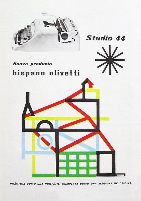 Olivetti Studio 44 Advert