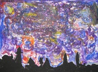 Great Website for teaching Art to children.  When I have an artist we are studying I usually go here for their step by step instructions  This is Starry Night inspired