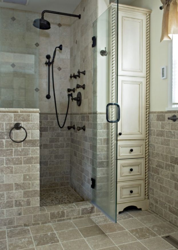 Best 25 Bathroom Shower Heads Ideas On Pinterest Master Bathroom Shower Bathroom Bench Seat