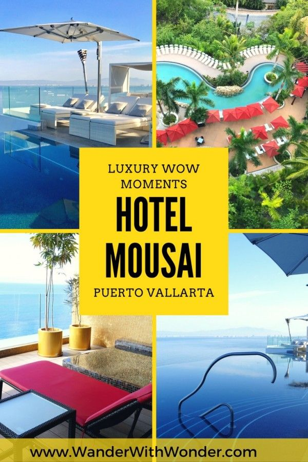 Hotel Mousai—the only AAA Five Diamond resort in Puerto Vallarta, Mexico—is filled with wow moments. Come along and discover a few luxury wow moments. via @wanderwwonder