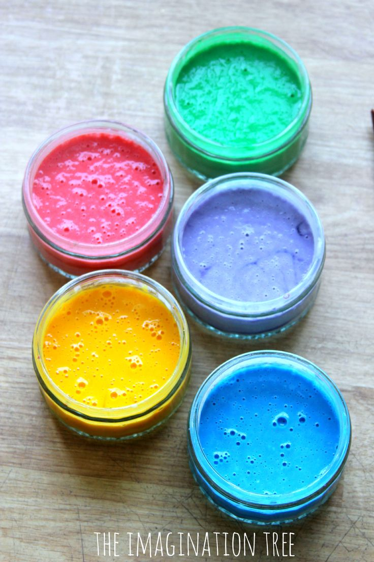 DIY window paints recipe