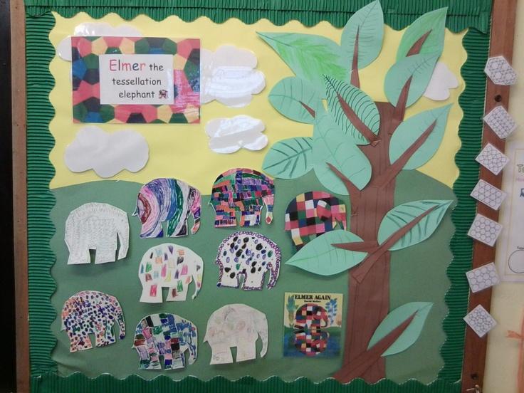 Elephant Classroom Decor ~ Elmer the elephant school stuff pinterest bulletin