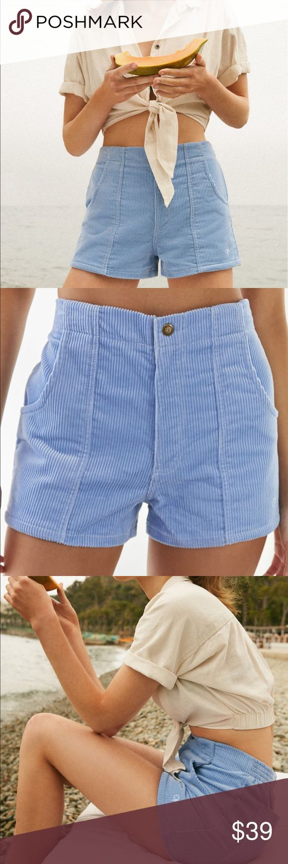 UO Corduroy Shorts Cute blue shorts with tags!! All offers welcome :) Urban Outfitters Shorts