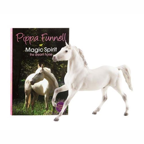 Breyer Pippa Funnell's Magic Spirit - Eventing superstar Pippa Funnell is now is sharing her love of horses and wealth of knowledge with children in a book series called Tilly's Pony Tails. First in the series, Magic Spirit tells the tale of Tilly Redbrow, a horse-loving girl and her adventures at Silver Shoe Farm.