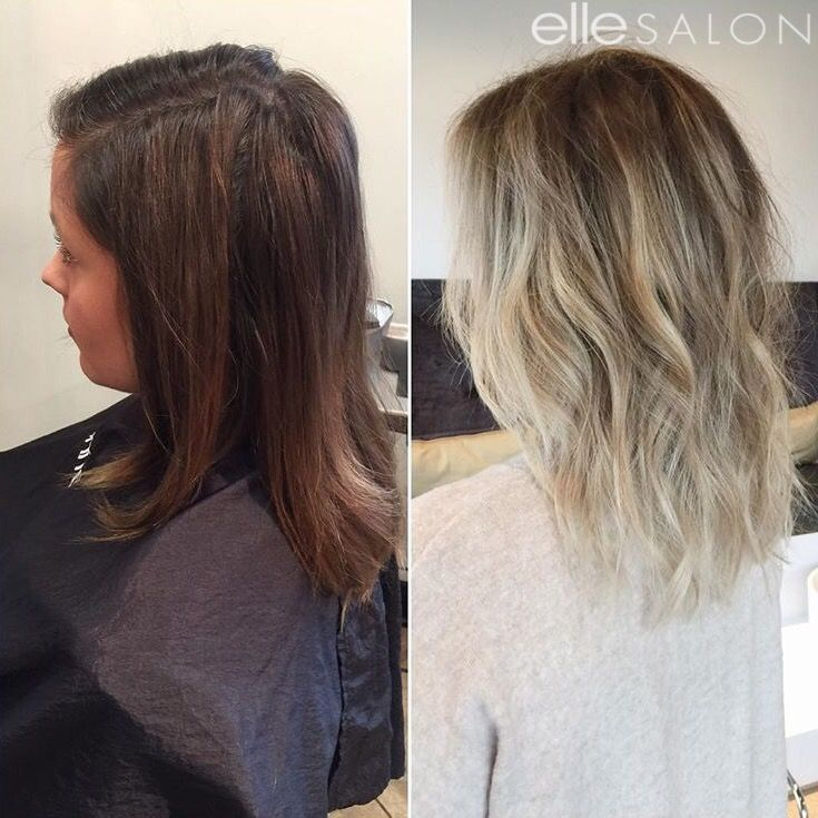 WOAH! @little_jflesh took this client from brunette to blonde like a #BOSS!⠀