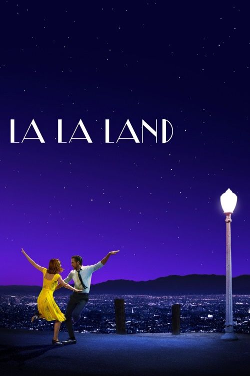 """'La La Land' movie - a memorable film, seen on Christmas Day, 2016, with family. """"In his first film since 'Whiplash,' Damien Chazelle stages a lavish song-&-dance musical that dares to swoon the old-fashioned way, with Ryan Gosling and Emma Stone as L.A. dreamers."""" We were thoroughly involved. Thanks."""