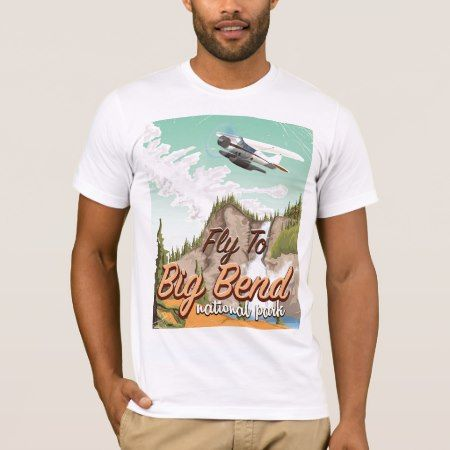 Big bend national park vintage travel poster T-Shirt - tap, personalize, buy right now!