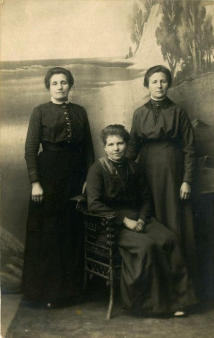 Vintage Photo Postcard Three Sisters Photography by dawnandross, $2.75