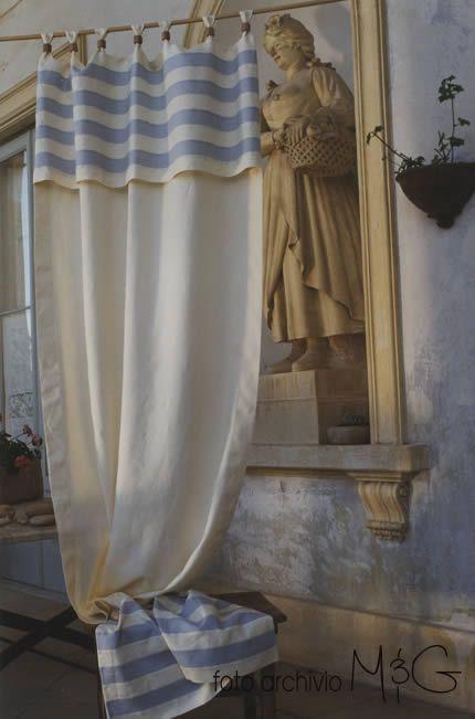 Tende di Lino in offerta Gusto e Tradizione Made in Italy