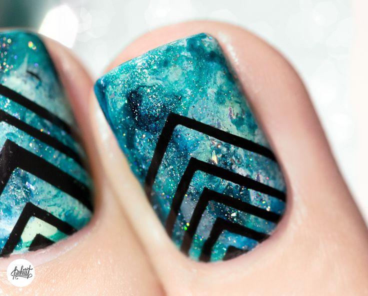 Best 25 galaxy nail art ideas on pinterest galaxy nail galaxy nailart vernis manucure prinsesfo Choice Image