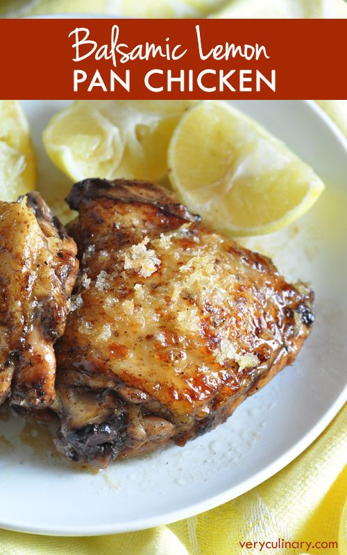An easy and ultra flavorful chicken dish, with sweet, tart, crispy lemon sugar skin, and buttery pan juices engulfing every nook and cranny!