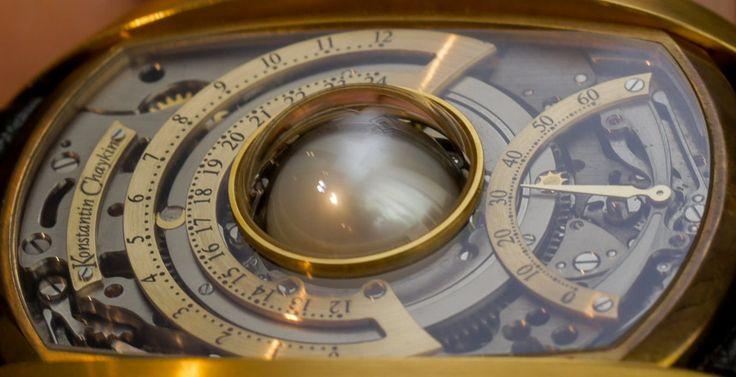 Konstantin Chaykin Lunokhod Prime Watch Hands-On Hands-On