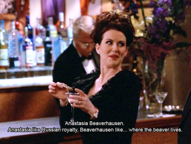 B is for Beaverhausen. | The Alphabet According To Karen Walker