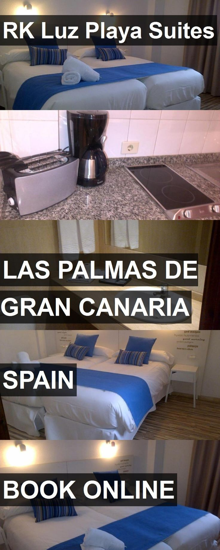 Hotel RK Luz Playa Suites in Las Palmas de Gran Canaria, Spain. For more information, photos, reviews and best prices please follow the link. #Spain #LasPalmasdeGranCanaria #travel #vacation #hotel