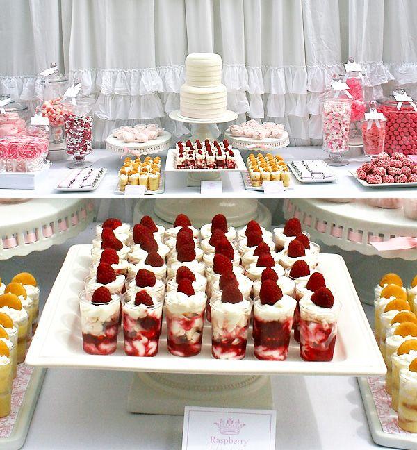 D: Dessert Tables, Shower Ideas, Bridal Shower Desserts, Desserts Bar, Parties Ideas, Bridal Shower Foods, Dessert Bars, Desserts Tables, Parties Food