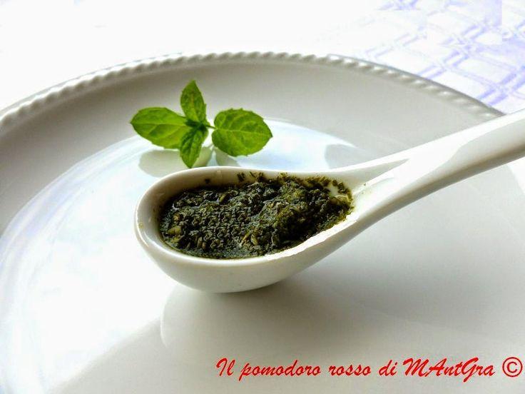 Salsa di menta alla piemontese #ricetta di @ilpomodororosso