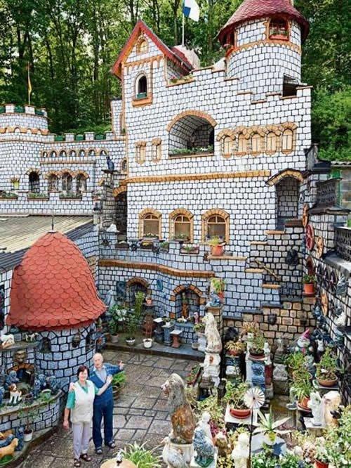 Backyard castle