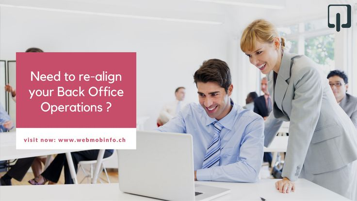 If you are spending too much time and effort on managing your daily operations, you need to re-align your Back Office Operations. goo.gl/4W2obG