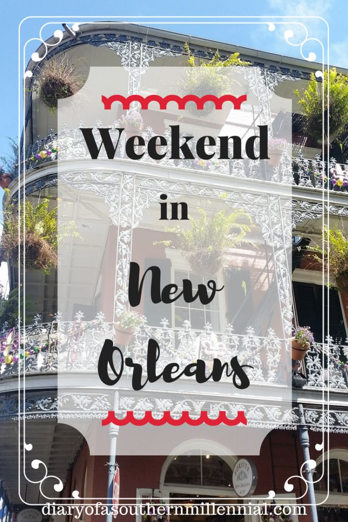 Here is what we did for our weekend in New Orleans. Magazine St, French Quarter, French Market, Jackson Square. Shopping and dining.