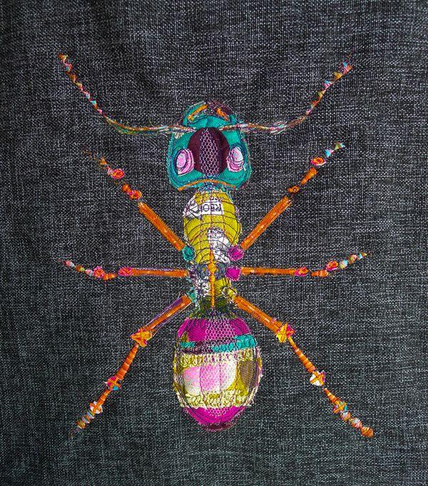 handmade by Ula Buczkowska: Mrówka/ Ant