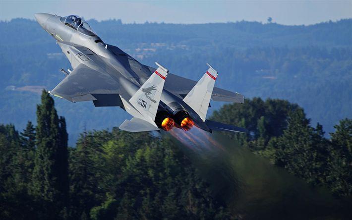 Hämta bilder McDonnell Douglas F-15 Eagle, fighter, stridsflygplan