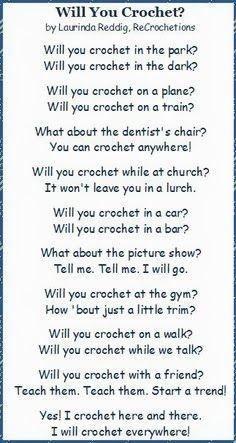 Yes! That is why we do it ateljee de Kraal: Crochet...