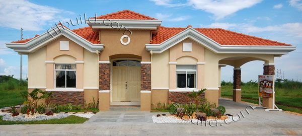 Filipino contractor architect bungalow house design real for House color design exterior philippines