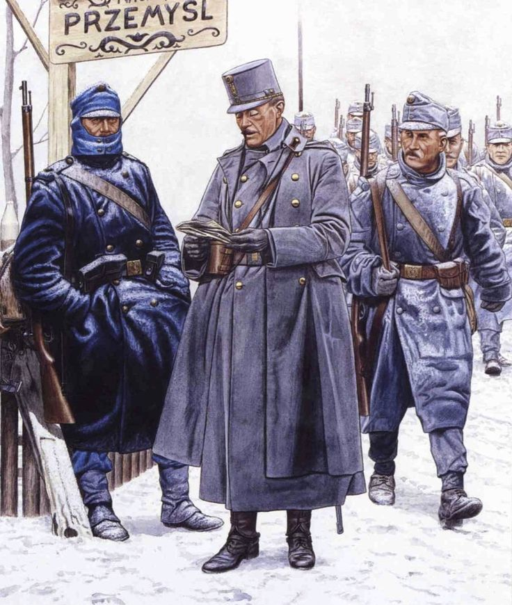 AustroHungarian Army, Carpathian Mountains, Autumn/Winter
