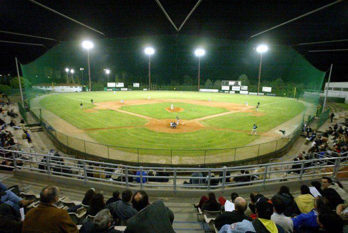 Stadio Gianni Falchi , Bologna, Italy. Home of Fortitudo Bologna