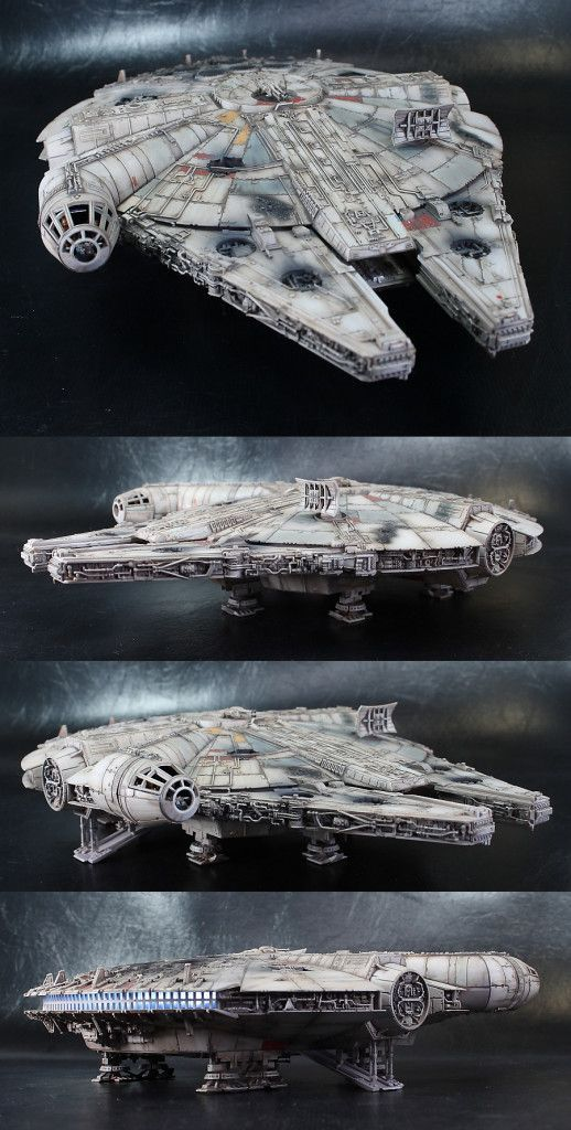 Millennium Falcon (Ep.7) Still the one 'hunk of junk' I would want for my own.