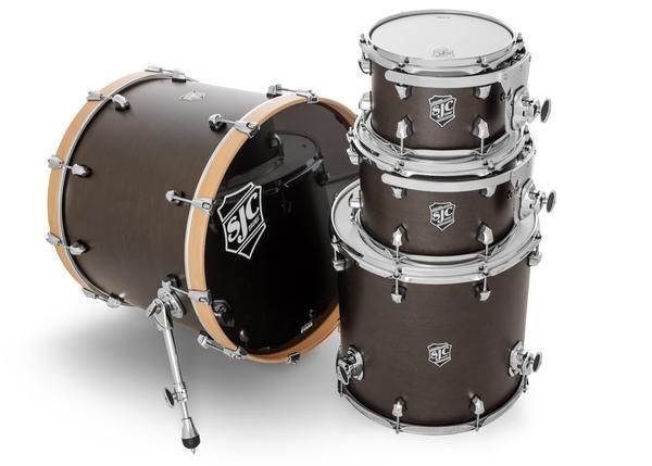 Sjc Custom Drums Usa Custom Drum Kit Navigator North American Maple Shells Midnight Espresso Super Satin Stain Drums Drum Kits Shells