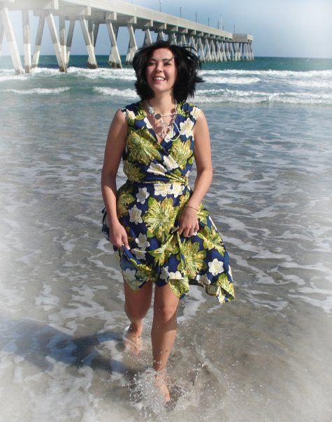 Beach Dress Wrap