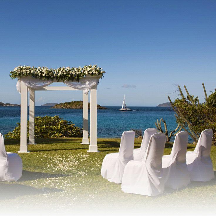 Island Destination Weddings On St John Us Virgin Islands Caribbean Beach Wedding