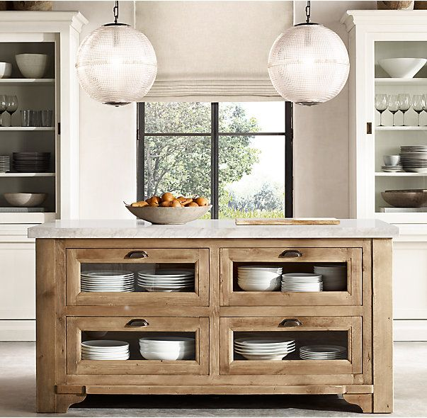 Restoration Hardware Kitchen Cabinets: 25+ Best Ideas About Rustic Kitchen Island On Pinterest