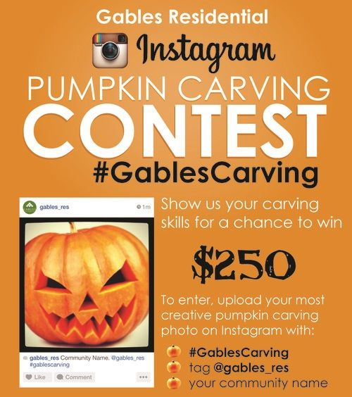 Gables Residential Instagram Apartment Internet Marketing Social Media Contest Residents Engagement