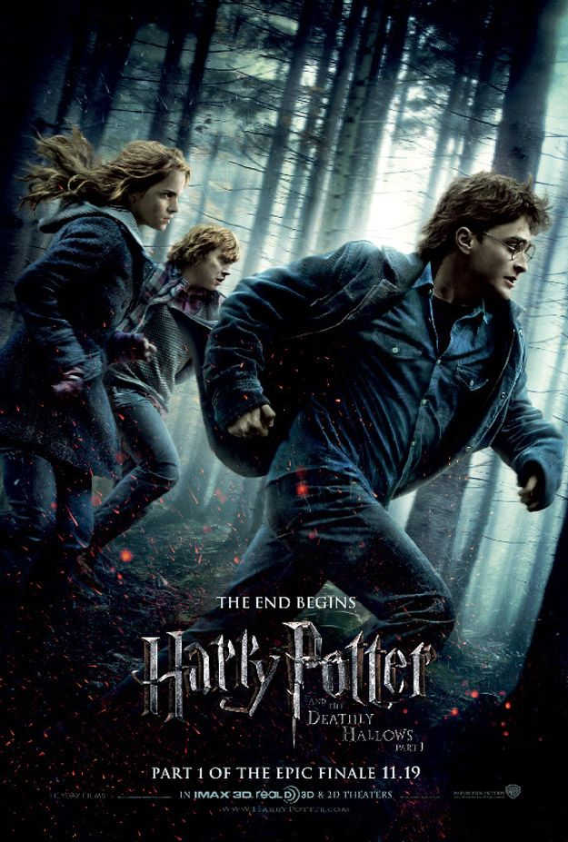 Love the books and movies of HP :)