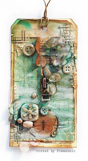 Tag suwakowy by finnabair, via Flickr#Repin By:Pinterest++ for iPad#