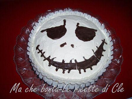 Torta Jack Skellington. #ricetta di @wondercle