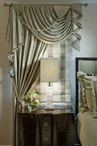 Maybe a decorative drape on a wall behind my nightstand is exactly what I need!