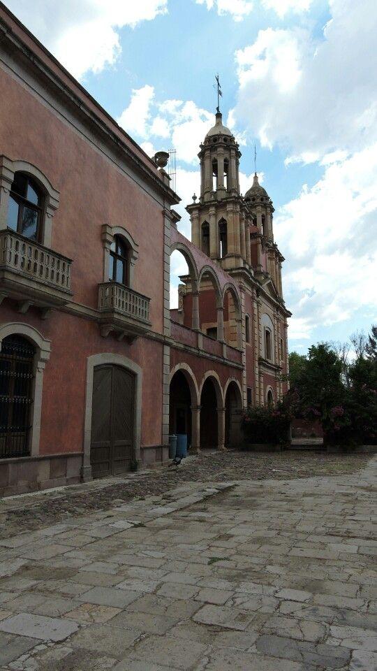 Ex Hacienda de Gogorrón, San luis potosi.