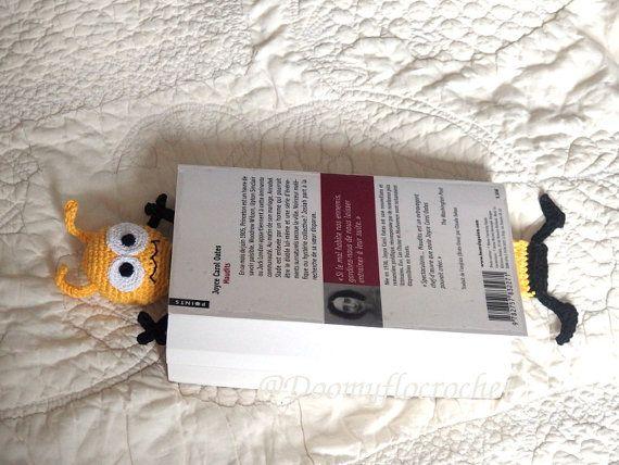 Markieren Sie Biene häkeln und Baumwolle schwarze-gelbe Seiten; Insekt; Zubehör-Bücher