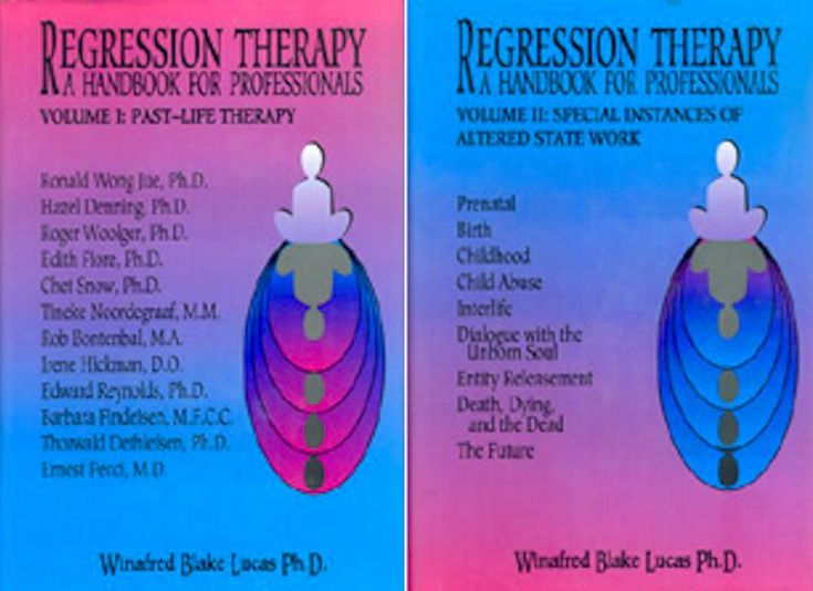 Regression Therapy: A Handbook for Professionals (Volumes ...