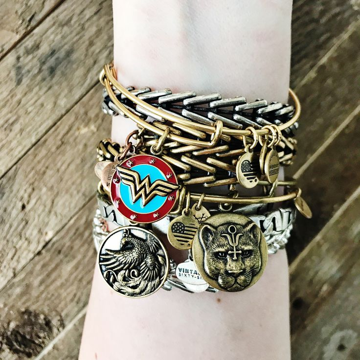 Wonder Woman pieces are now available at Alex and Ani! Click to shop!