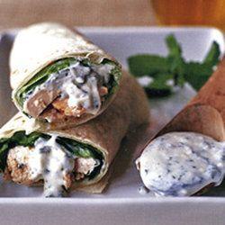 chicken wraps the chicken lunch wraps chicken roll ups tandoori ...